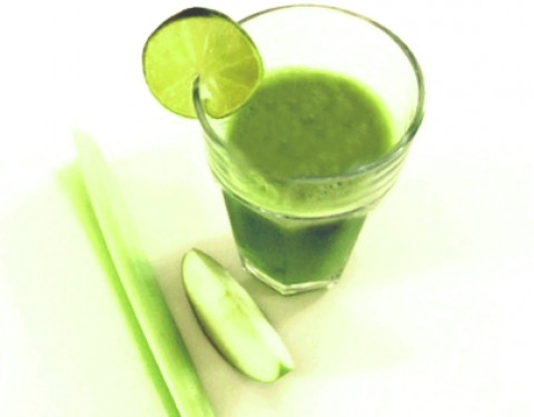 Apple, Celery & Lime Juice