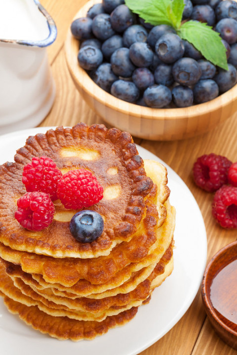 Healthy, tasty pancakes for the whole family