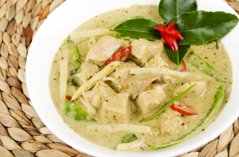 Easy Thai Green Chicken Curry (for the whole family)