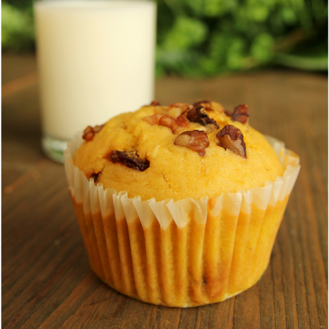 Nutritious Snack After Pregnancy, Healthy Carrot Muffins