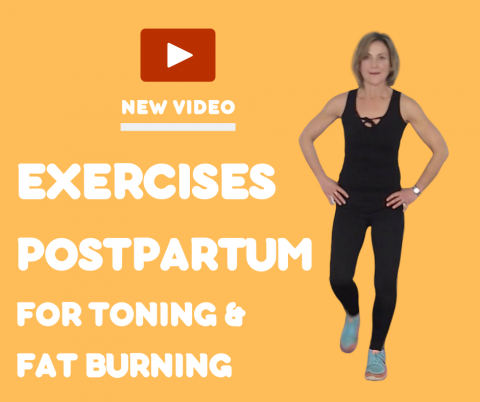 Exercises Postpartum for Toning and Fat Burning (MELT FAT TO GET FIT)