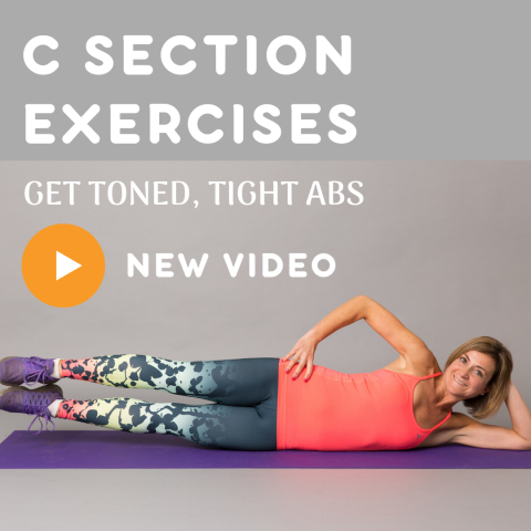 C Section Exercises After Baby To Tone Your Lower Abs