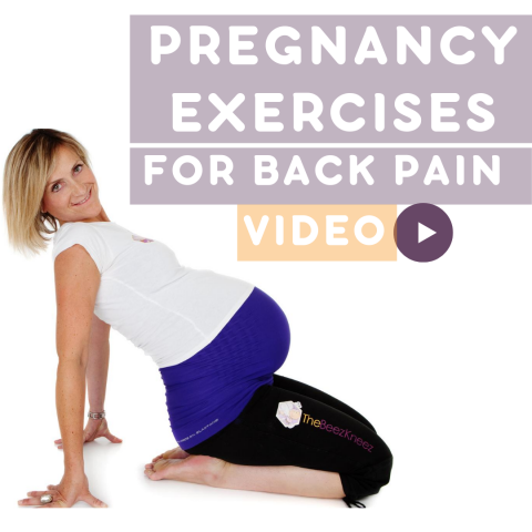 Pregnancy Exercises For Back Pain Trimester 1, 2 and 3 (RELIEVE BACK PAIN FAST)